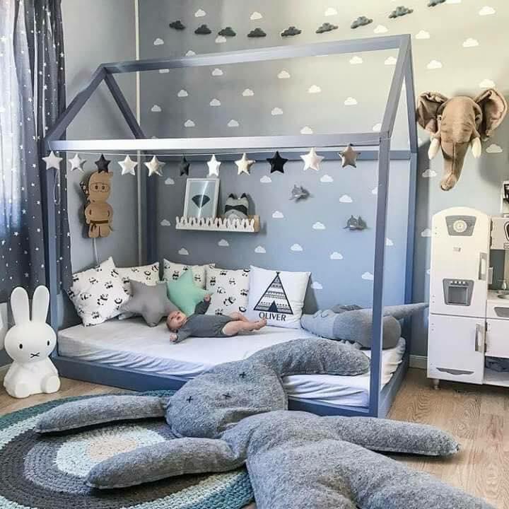 17 Idea Dekorasi Menarik Moden Untuk Bilik Tidur Anak Lelaki Perempuan Ilham Dekorasi