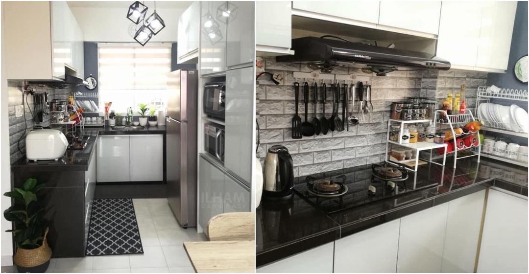 Cara Hias Dapur Sempit Supaya Nampak Lebih Luas Kemas Ilham Dekorasi