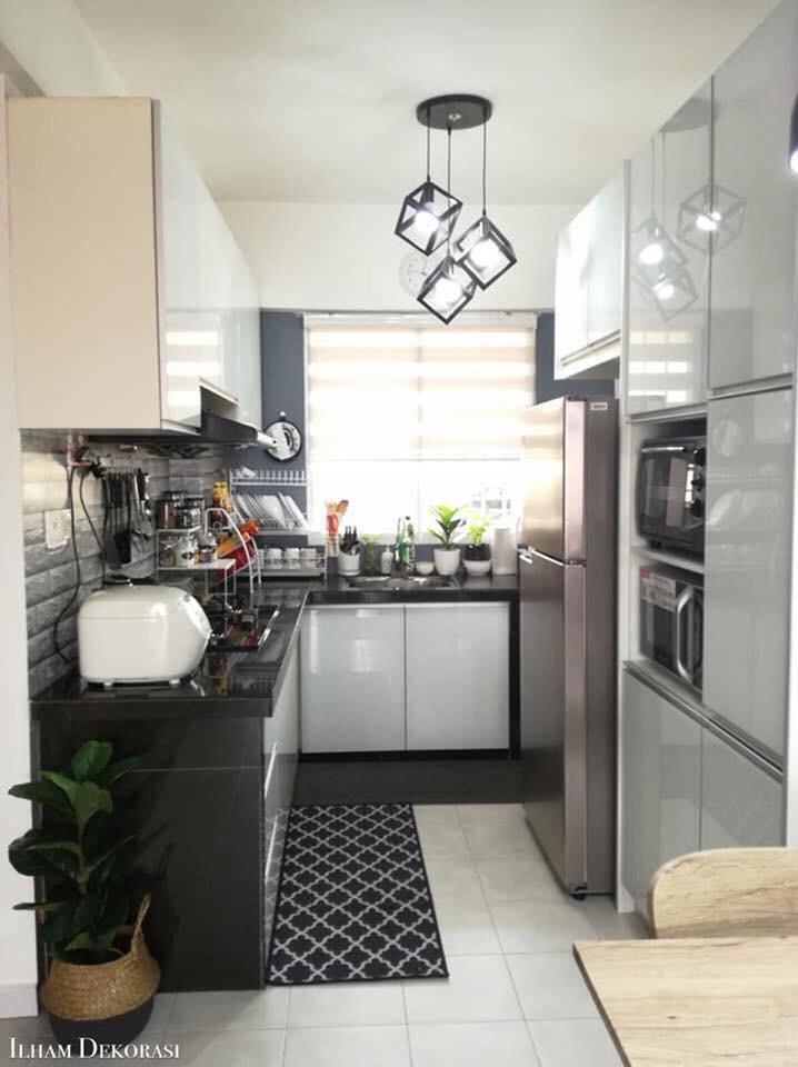 Cara Susun Atur Dapur Sempit Supaya Nampak Lebih Luas Kemas Ilham Media