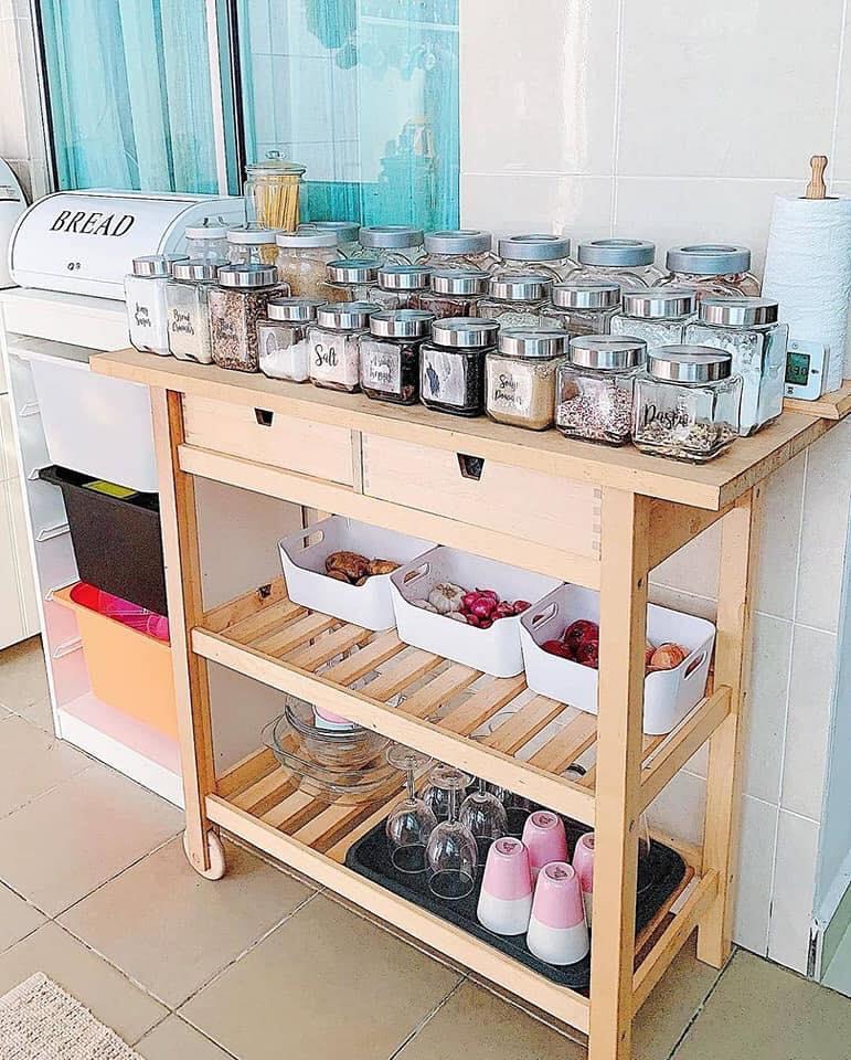 40 Gambar Cara Susun Atur Rempah Ratus Bahan Kering Di Dapur Guna Rak Botol Murah Jer Ilham Dekorasi