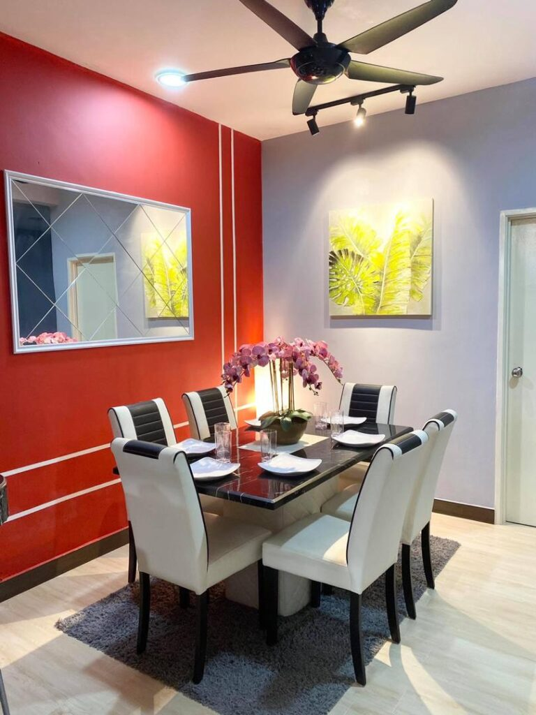 Dekorasi Ruang Makan Dapur Konsep Moden Minimalis Ilham Dekorasi