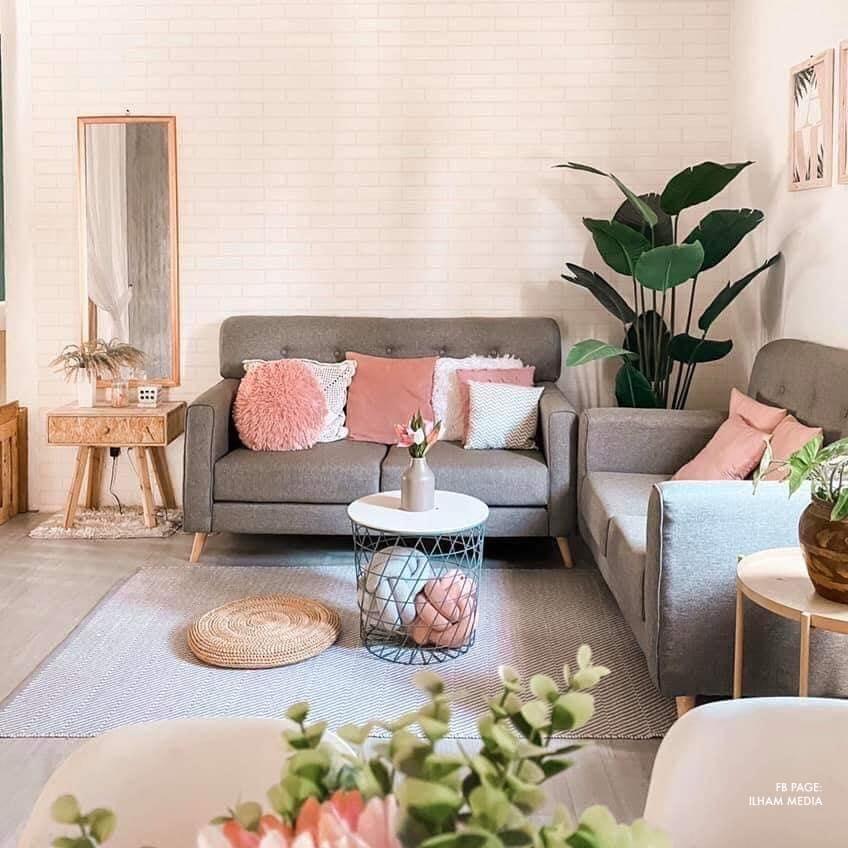 20 Gambar Dekorasi Ruang Tamu Simple Cantik Ilham Dekorasi