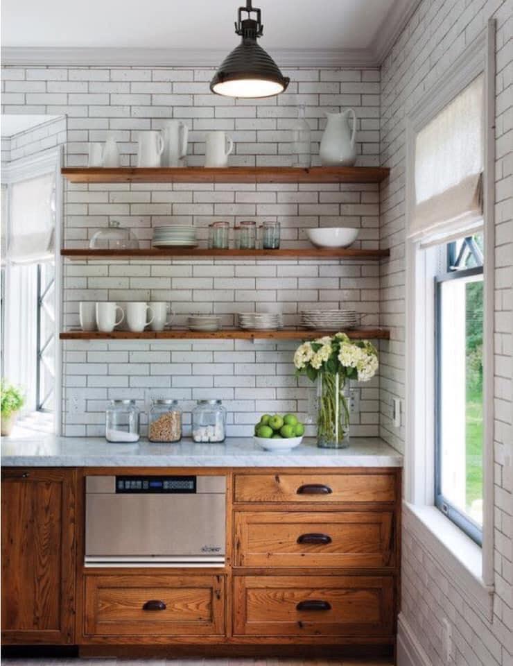 33 Gambar Idea Rak Di Dapur Ringkas Mudah Capai Ilham Dekorasi