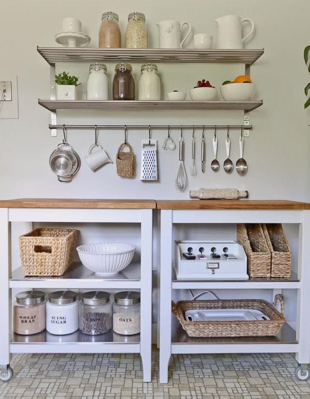 33 Gambar Idea Rak Bahan Masak Pantri Di Dapur Ilham Dekorasi