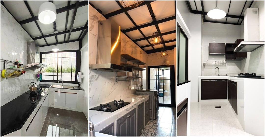 10 Gambar Dapur Basah Extend Belakang Rumah Lawa Menarik Sungguh Ilham Dekorasi