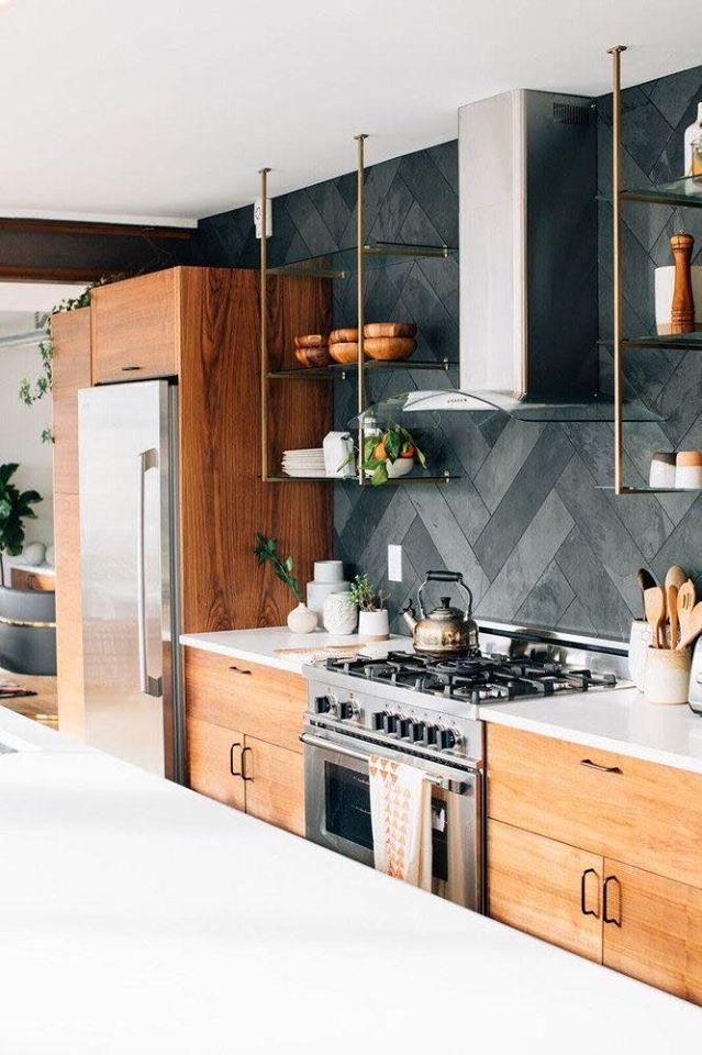 22 Gambar Idea Backsplash Untuk Kemasan Dinding Bahagian Dapur Ilham Dekorasi