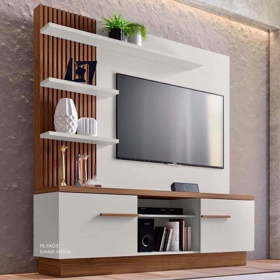 23 Gambar Idea Rak Kabinet Tv Ilham Dekorasi