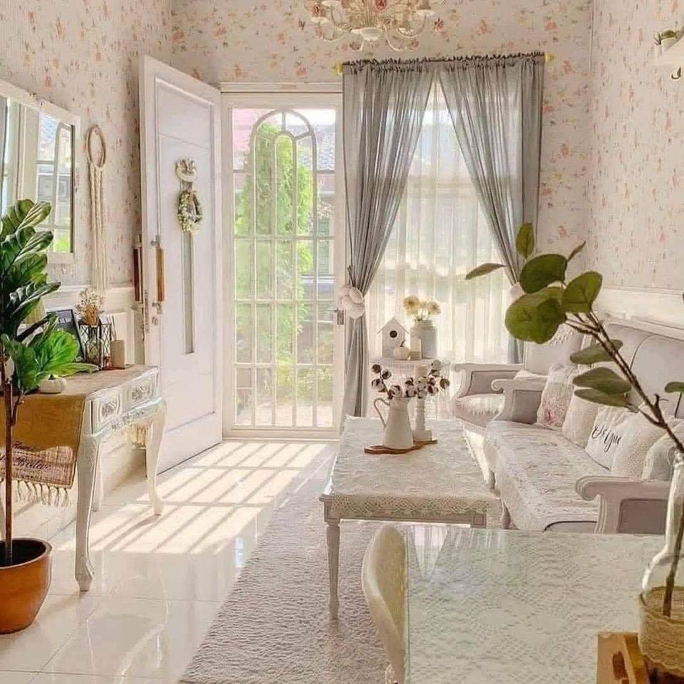 15 Gambar Koleksi Deko Ruang Tamu Simple Cantik Ilham Dekorasi