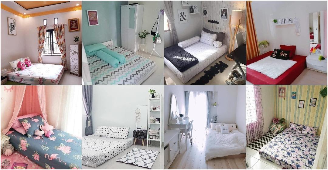 40 Gambar Inspirasi Bilik Tidur Tanpa Katil Simple Cantik Ilham Dekorasi