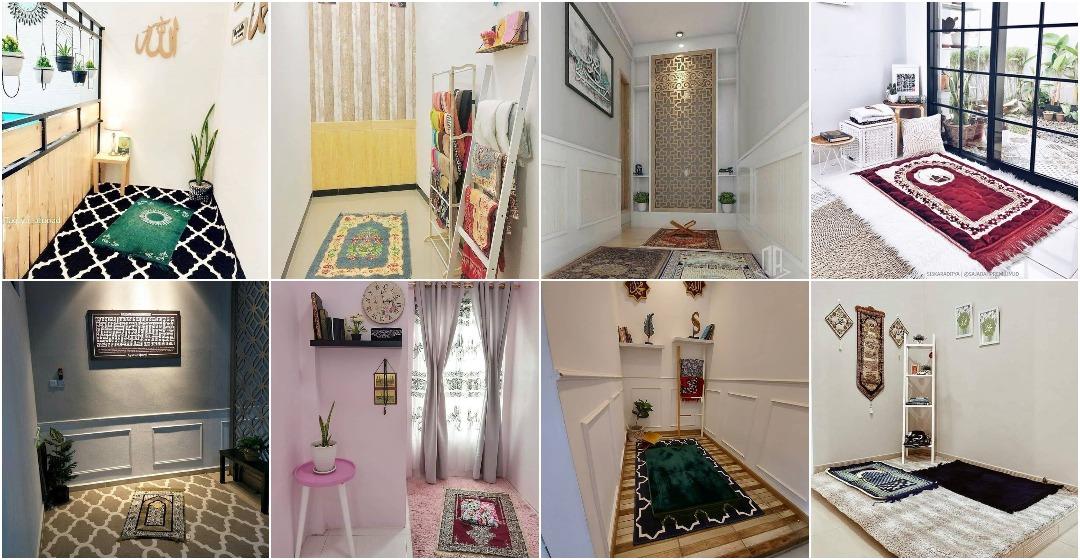 27 Gambar Idea Ruang Solat Khas Surau Kecil Di Rumah Ilham Dekorasi